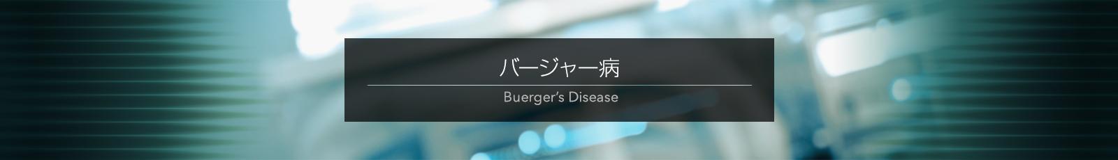 バ ージャー病